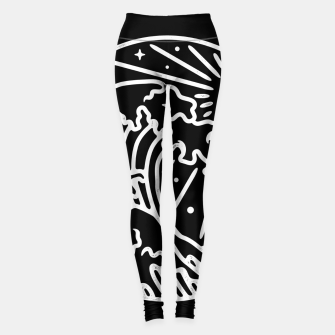 Thumbnail image of The Great Wave Leggings, Live Heroes