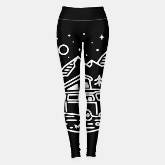 Miniatur Go Outdoor Leggings, Live Heroes