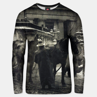 Thumbnail image of Photo of Alfred Stieglitz - The terminal 1892 Unisex sweater, Live Heroes