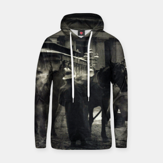 Thumbnail image of Photo of Alfred Stieglitz - The terminal 1892 Hoodie, Live Heroes