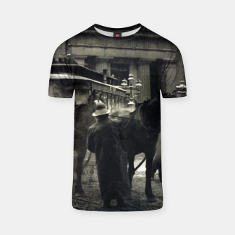 Thumbnail image of Photo of Alfred Stieglitz - The terminal 1892 T-shirt, Live Heroes