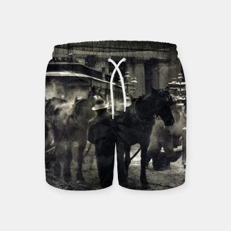 Thumbnail image of Photo of Alfred Stieglitz - The terminal 1892 Swim Shorts, Live Heroes