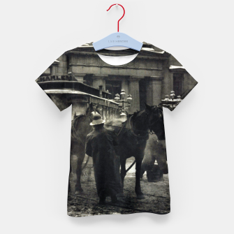 Thumbnail image of Photo of Alfred Stieglitz - The terminal 1892 Kid's t-shirt, Live Heroes
