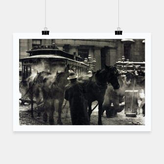Thumbnail image of Photo of Alfred Stieglitz - The terminal 1892 Poster, Live Heroes