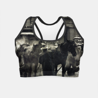 Thumbnail image of Photo of Alfred Stieglitz - The terminal 1892 Crop Top, Live Heroes