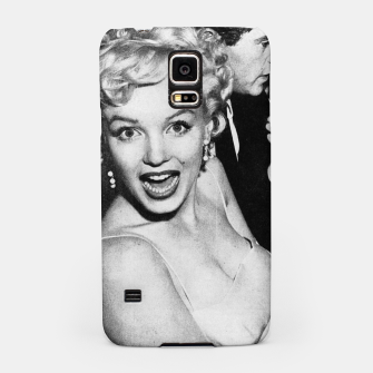 Miniaturka Photo of Marylin Monroe in a party  1955 Samsung Case, Live Heroes
