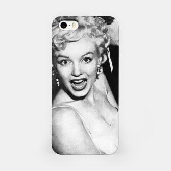 Miniaturka Photo of Marylin Monroe in a party  1955 iPhone Case, Live Heroes