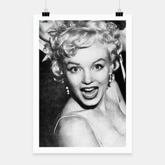 Miniaturka Photo of Marylin Monroe in a party  1955 Poster, Live Heroes
