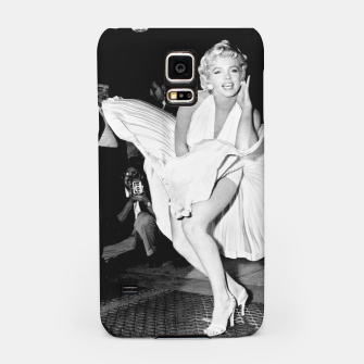 Thumbnail image of Photo of Marylin Monroe from the movie The seven year itch Samsung Case, Live Heroes