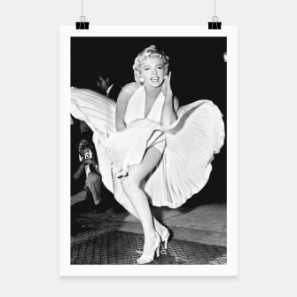 Thumbnail image of Photo of Marylin Monroe from the movie The seven year itch Poster, Live Heroes