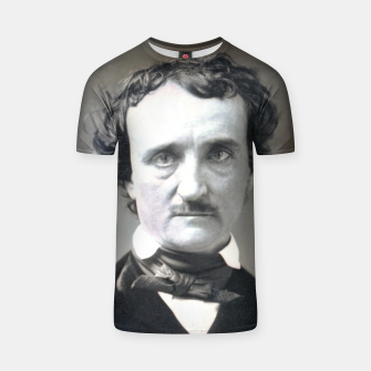 Thumbnail image of Photo restored of Portrait of  Edgar Allan Poe T-shirt, Live Heroes