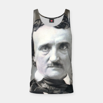 Thumbnail image of Photo restored of Portrait of  Edgar Allan Poe Tank Top, Live Heroes