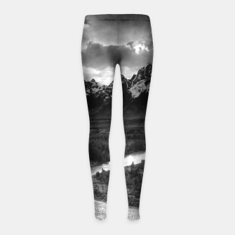 Miniatur  Photography by Ansel Adams - The Tetons and the Snake River (1942) Grand Teton National Park, Wyoming Girl's leggings, Live Heroes