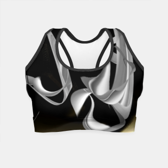 Miniatur Darkorganicflow Crop Top, Live Heroes