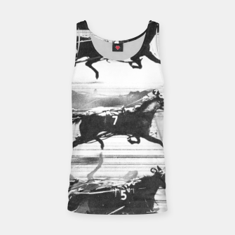 Miniatur Photo Finish of a race at  Freehold Raceway (USA)   Tank Top, Live Heroes