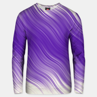 Thumbnail image of Stripes Wave Pattern 10 ppi Unisex sweater, Live Heroes