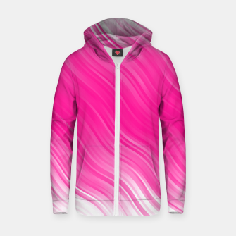 Thumbnail image of Stripes Wave Pattern 10 dpi Zip up hoodie, Live Heroes