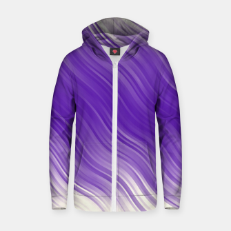 Thumbnail image of Stripes Wave Pattern 10 ppi Zip up hoodie, Live Heroes