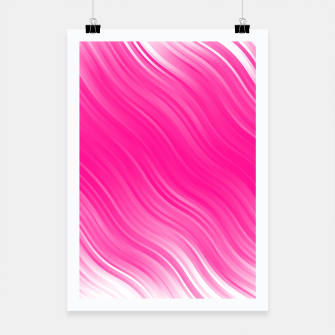 Thumbnail image of Stripes Wave Pattern 10 dpi Poster, Live Heroes