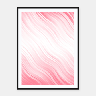 Thumbnail image of Stripes Wave Pattern 10 pw Framed poster, Live Heroes