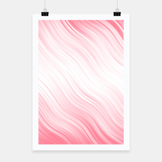 Thumbnail image of Stripes Wave Pattern 10 pw Poster, Live Heroes