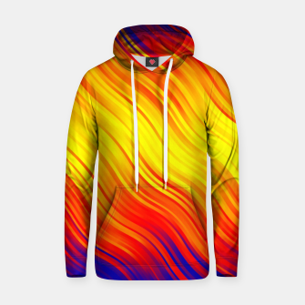 Stripes Wave Pattern 10 bry Hoodie thumbnail image