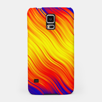 Stripes Wave Pattern 10 bry Samsung Case thumbnail image