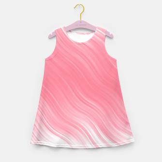 Thumbnail image of Stripes Wave Pattern 10 pwi Girl's summer dress, Live Heroes