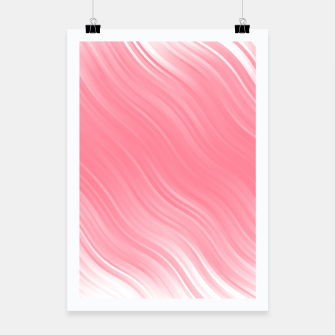 Thumbnail image of Stripes Wave Pattern 10 pwi Poster, Live Heroes