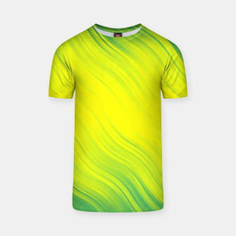 Thumbnail image of Stripes Wave Pattern 10 gy T-shirt, Live Heroes