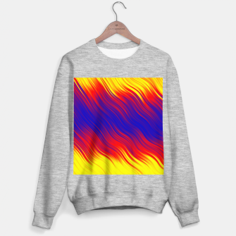 Thumbnail image of Stripes Wave Pattern 10 bryi Sweater regular, Live Heroes
