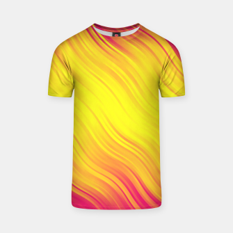Thumbnail image of Stripes Wave Pattern 10 py T-shirt, Live Heroes