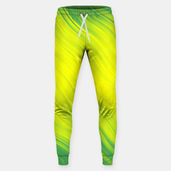 Thumbnail image of Stripes Wave Pattern 10 gy Sweatpants, Live Heroes