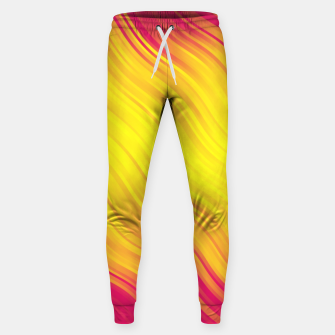 Thumbnail image of Stripes Wave Pattern 10 py Sweatpants, Live Heroes
