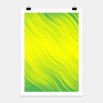 Thumbnail image of Stripes Wave Pattern 10 gy Poster, Live Heroes