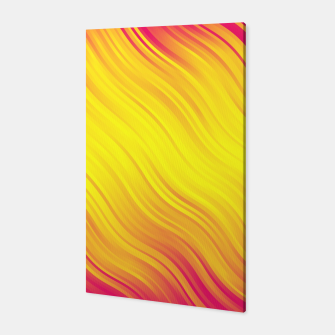 Thumbnail image of Stripes Wave Pattern 10 py Canvas, Live Heroes