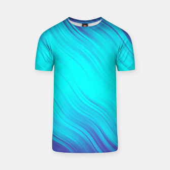 Thumbnail image of Stripes Wave Pattern 10 bt T-shirt, Live Heroes