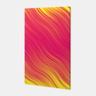 Thumbnail image of Stripes Wave Pattern 10 pyi Canvas, Live Heroes