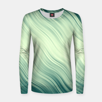 Thumbnail image of Stripes Wave Pattern 10 lg Women sweater, Live Heroes