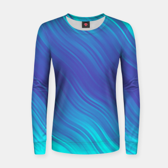 Thumbnail image of Stripes Wave Pattern 10 bti Women sweater, Live Heroes