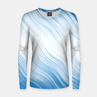 Thumbnail image of Stripes Wave Pattern 10 wb Women sweater, Live Heroes