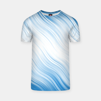 Thumbnail image of Stripes Wave Pattern 10 wb T-shirt, Live Heroes