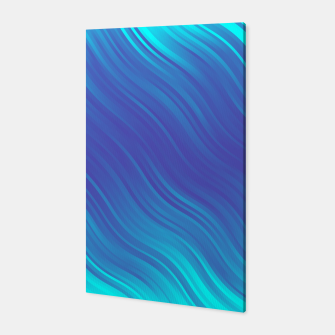 Thumbnail image of Stripes Wave Pattern 10 bti Canvas, Live Heroes
