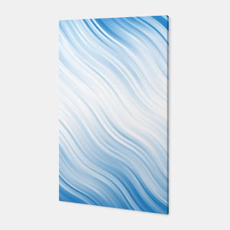 Thumbnail image of Stripes Wave Pattern 10 wb Canvas, Live Heroes