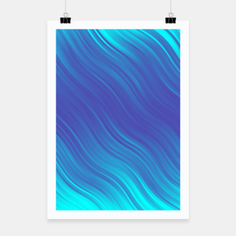 Thumbnail image of Stripes Wave Pattern 10 bti Poster, Live Heroes