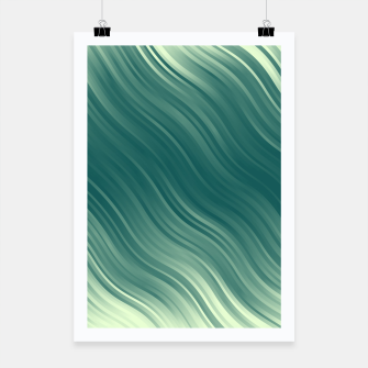 Thumbnail image of Stripes Wave Pattern 10 lgi Poster, Live Heroes