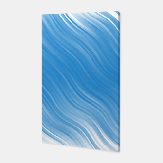 Thumbnail image of Stripes Wave Pattern 10 wbi Canvas, Live Heroes