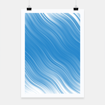 Thumbnail image of Stripes Wave Pattern 10 wbi Poster, Live Heroes