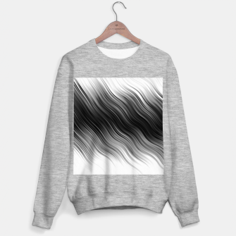 Thumbnail image of Stripes Wave Pattern 10 bwi Sweater regular, Live Heroes