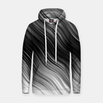 Stripes Wave Pattern 10 bwi Hoodie miniature
